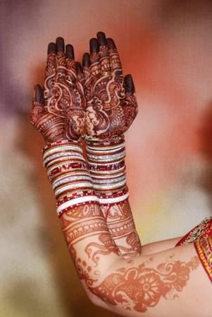 Bridal mehndi