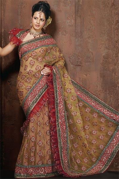 Bridal sarees (3)
