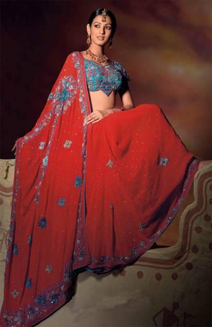 Bridal sarees (4)