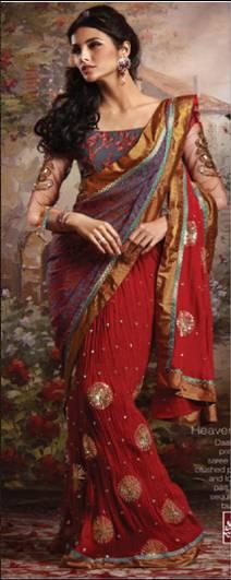 Bridal sarees (5)
