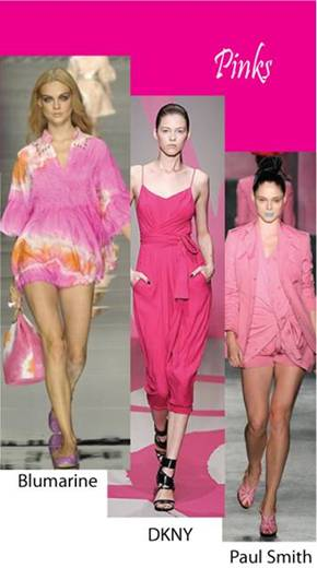 Color trend Spring summer 2010 pink