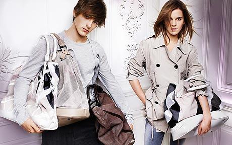 Emma Watson Burberry 2010 Fashion Ads-1