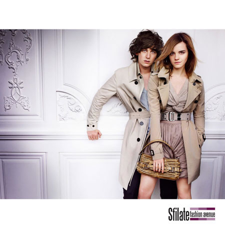 Emma Watson Burberry 2010 Fashion Ads-10