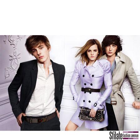 Emma Watson Burberry 2010 Fashion Ads-2
