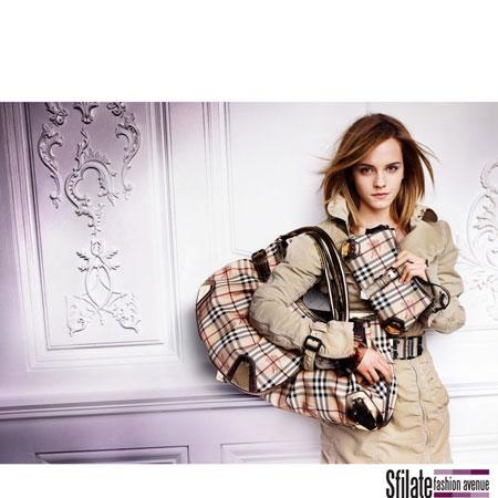 Emma Watson Burberry 2010 Fashion Ads-4