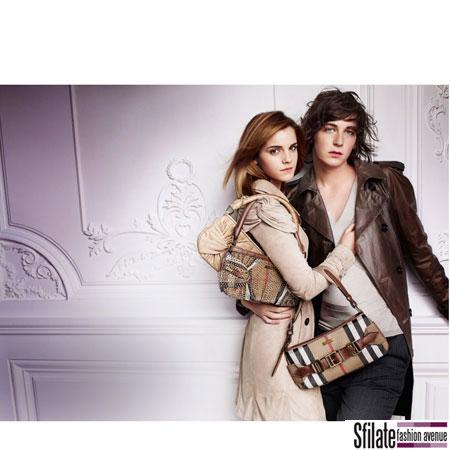 Emma Watson Burberry 2010 Fashion Ads-6