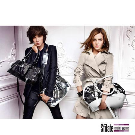 Emma Watson Burberry 2010 Fashion Ads-8