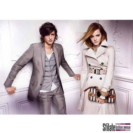Emma Watson Burberry 2010 Fashion Ads-9