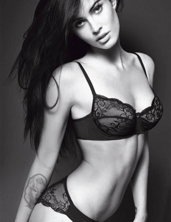 Megan fox for armani underwear ad