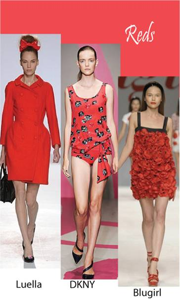 Color trend Spring summer 2010 red