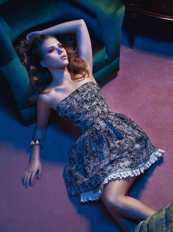 Scarlett Johansson for Mango SS 2010 campaign