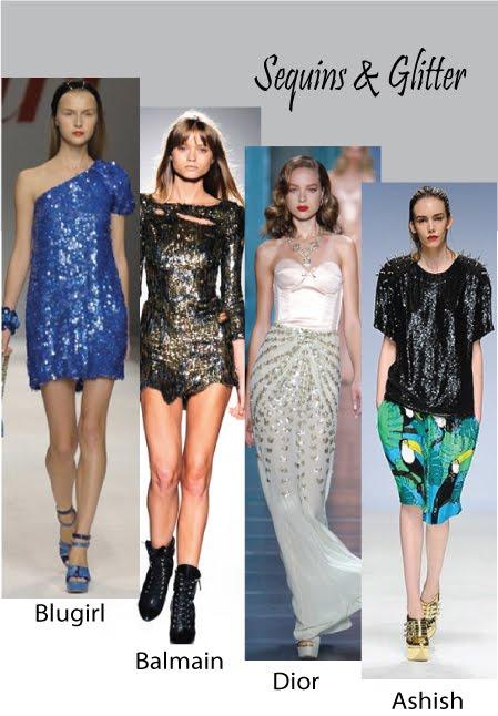 Trends Spring / Summer 2010 (Sequins, glitter)
