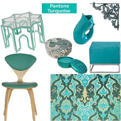 Turquoise Pantone's Color of the Year for 2010-