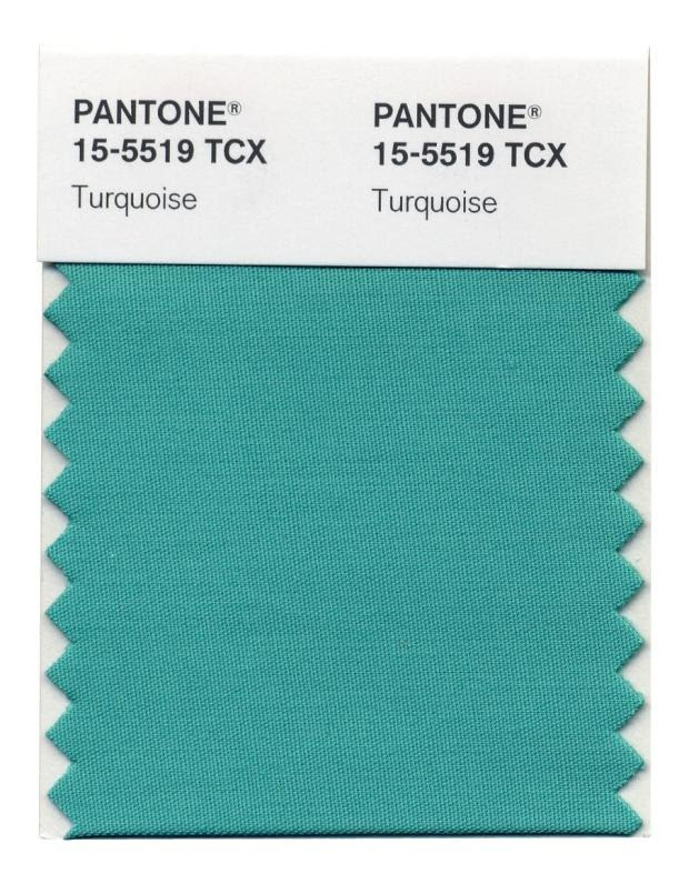 Turquoise Pantone's Color of the Year for 2010