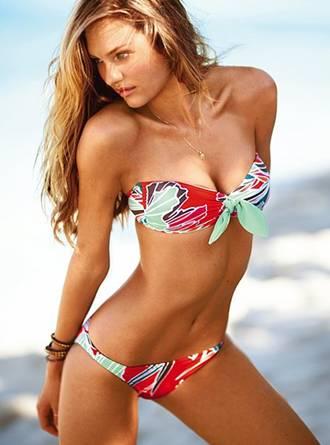 bandeau style two-piece bikini