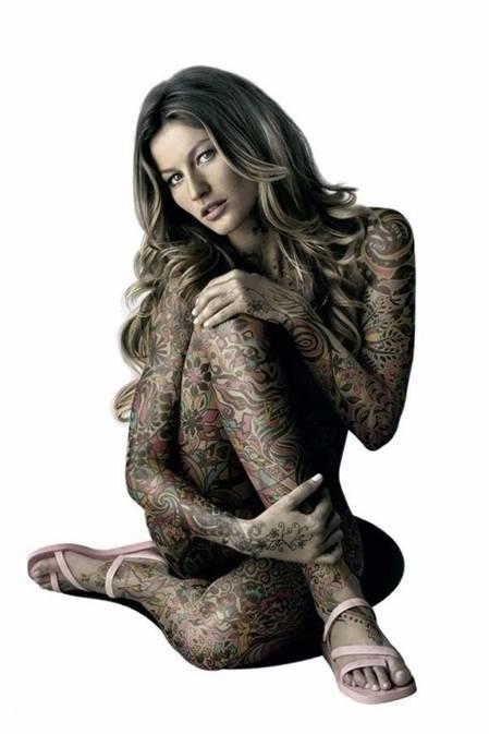body tattoo for girls