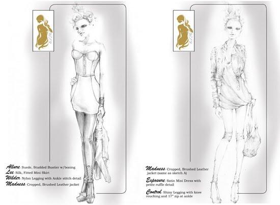 lindsay lohan fashion collection 1