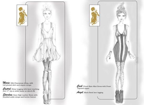 lindsay lohan fashion collection 2