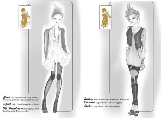 lindsay lohan fashion collection 3