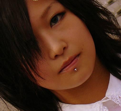 lip piercing  - 5