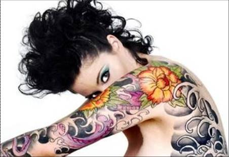 body tattooing. permanent ody tattoos-2