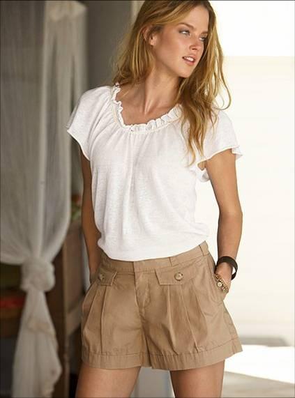 pleated shorts-2