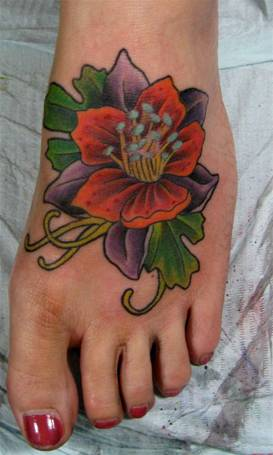 tattoo designs on foot - 3