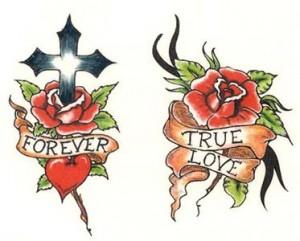 temporary transfer tattoo