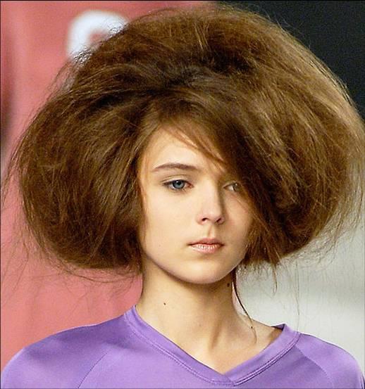 volumnious hair