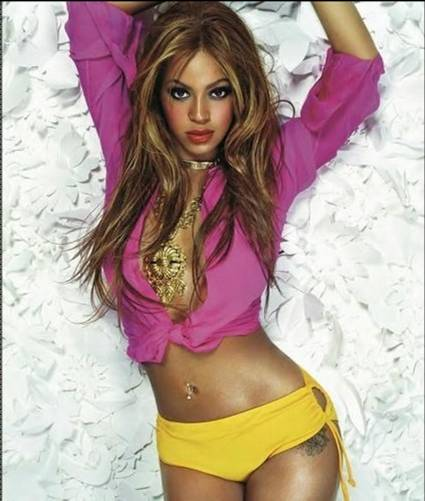 Beyonce belly piercing