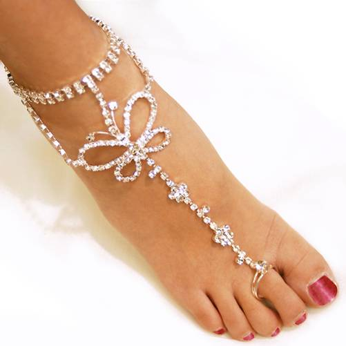 Bridal toe rings