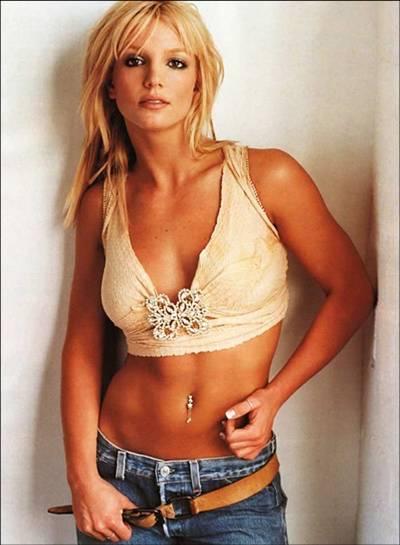Britney spears belly piercing