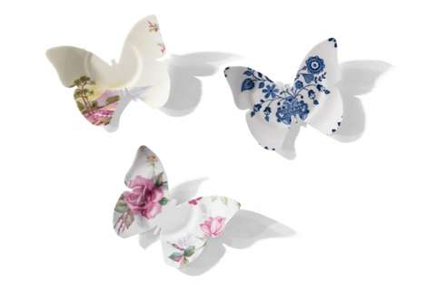 Broken plate butterflies - eco trends (2)