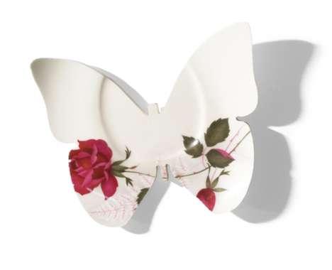 Broken plate butterflies - eco trends
