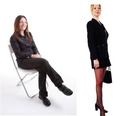 Correct posture / sitting / standing