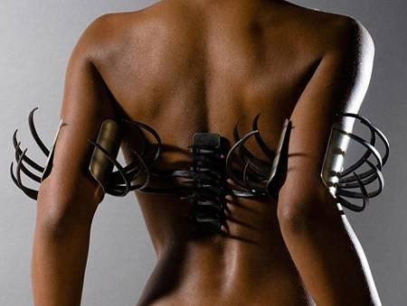Crazy metal jewelry Rebekah frank