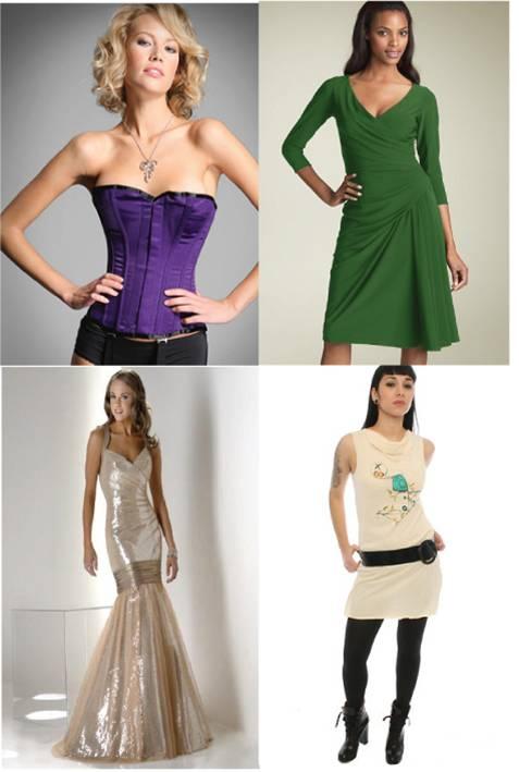 Dress / corset for thin waist Petite