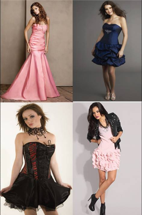 Dress/ gown for petite