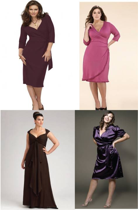 Dresses for large breast / Plus size