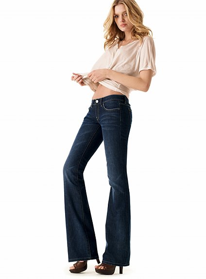 Extra long Boot cut jeans for petite