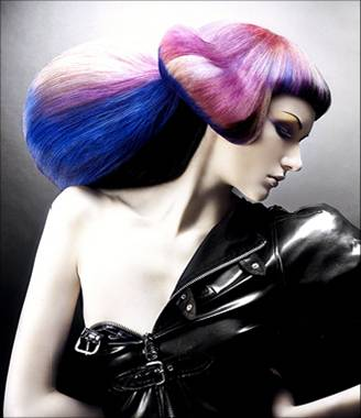 Funky hair color (4)