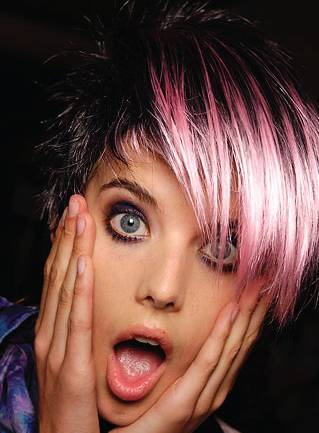 Funky Pink Hair Color Styles