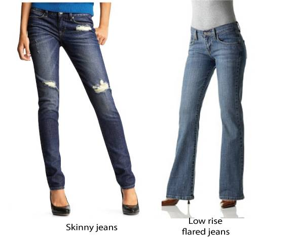 Jeans for petite and short