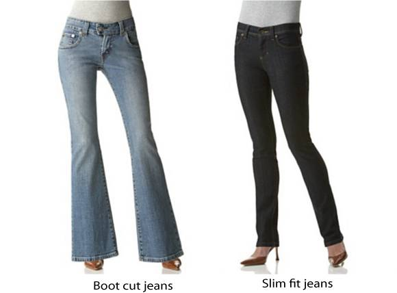 Jeans for tall and petite slim fit