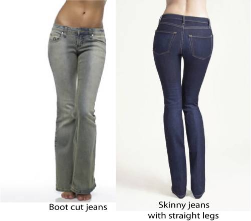 How to wear skinny jeans big hips
