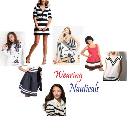 Nautical fashion / nautical dress
