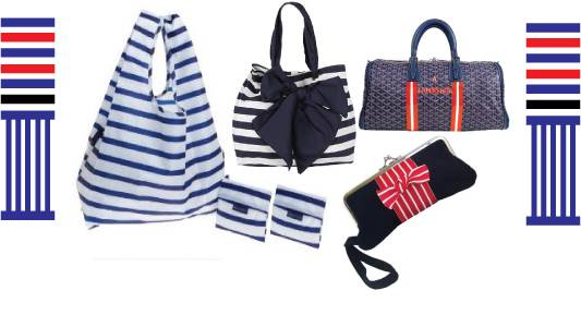 Nautical handbags