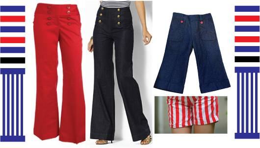 Nautical trousers / pants
