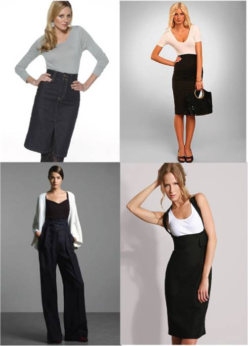 Skirts and trousers for large waist / plus size