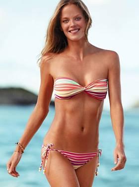 Large breasts in bikinis